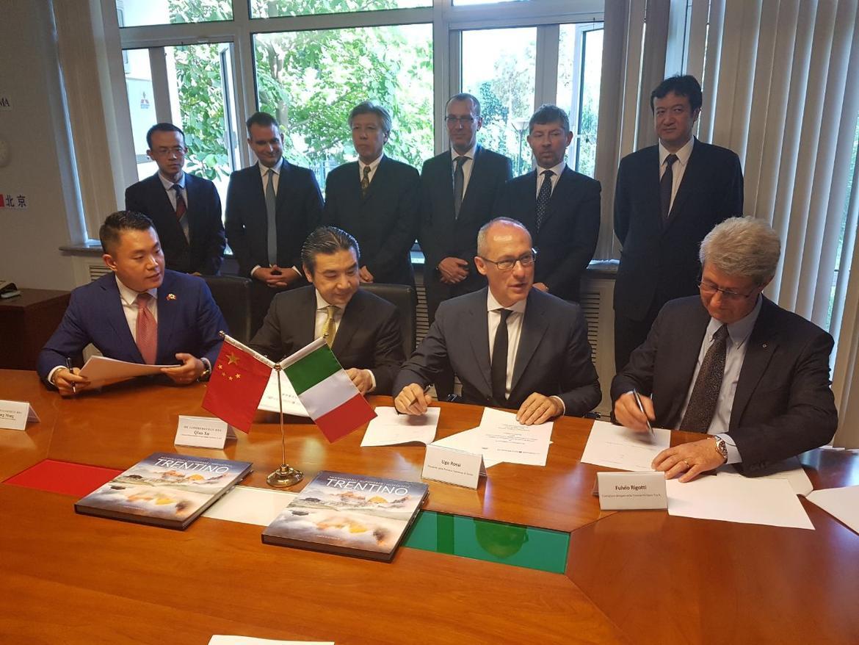 Trentino Sviluppo firma per Pekino 2022